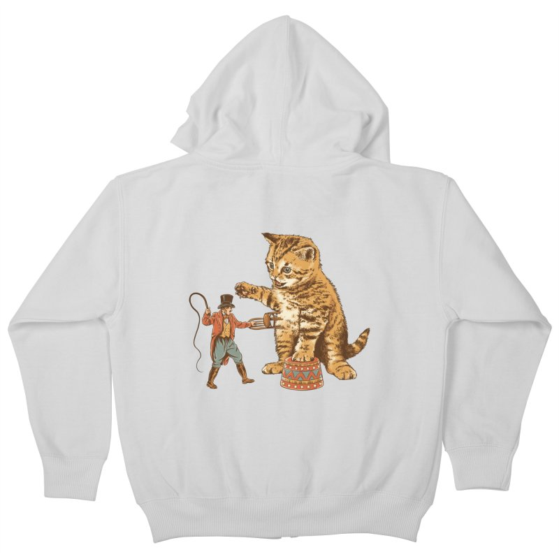 Training Day Kids Zip-Up Hoody by CPdesign's Artist Shop