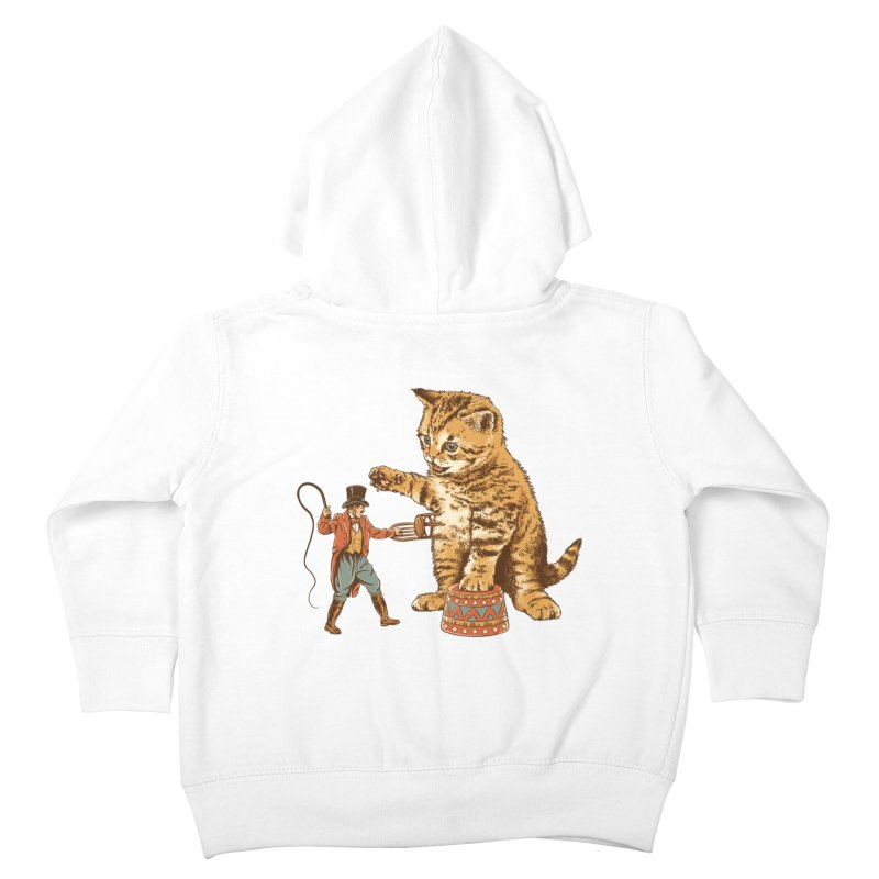 Training Day Kids Toddler Zip-Up Hoody by CPdesign's Artist Shop