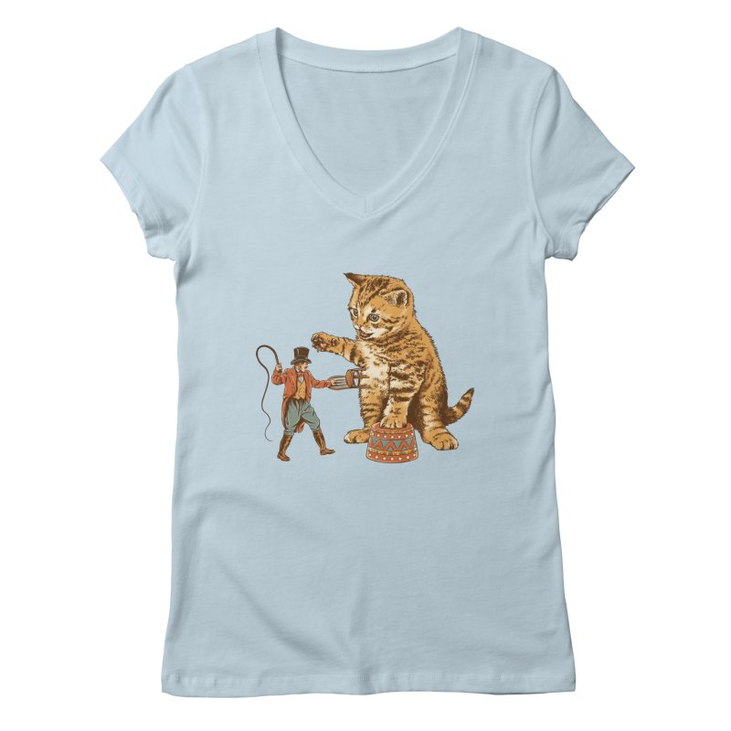 Training Day Women's V-Neck by CPdesign's Artist Shop
