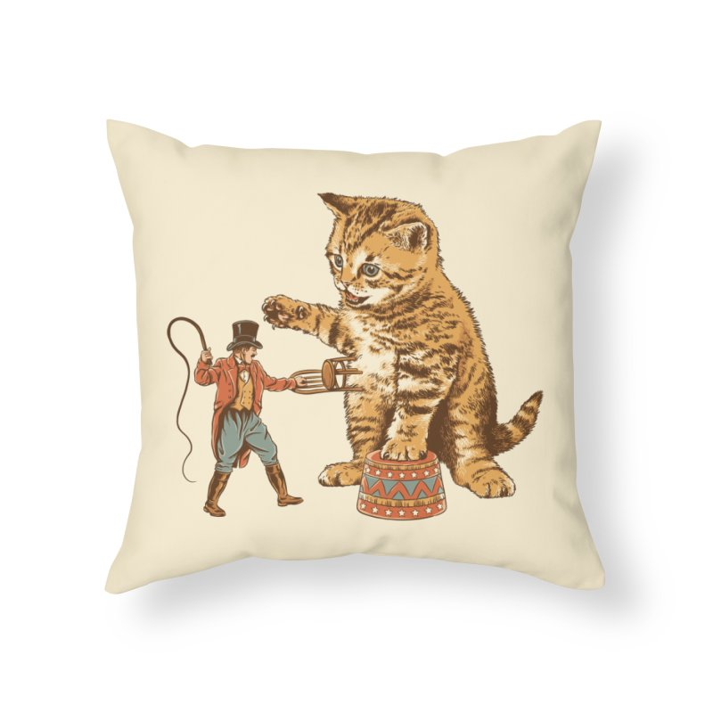 Training Day Home Throw Pillow by CPdesign's Artist Shop