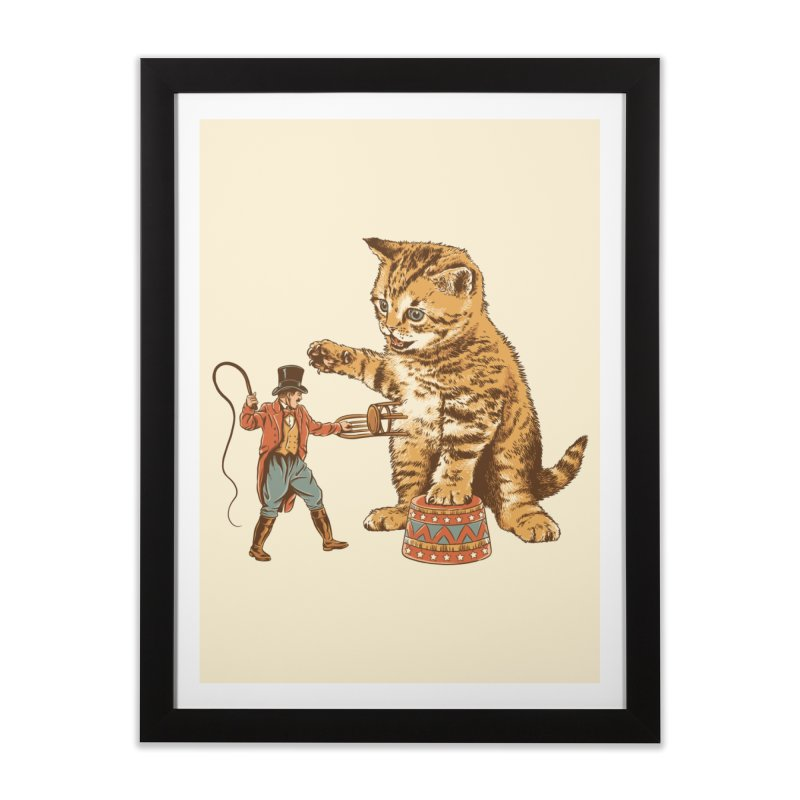 Training Day Home Framed Fine Art Print by CPdesign's Artist Shop