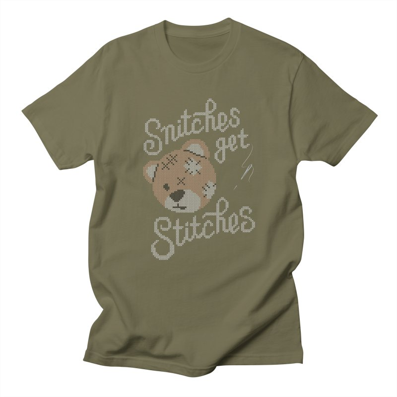 Snitches Get Stitches Women's Unisex T-Shirt by CPdesign's Artist Shop