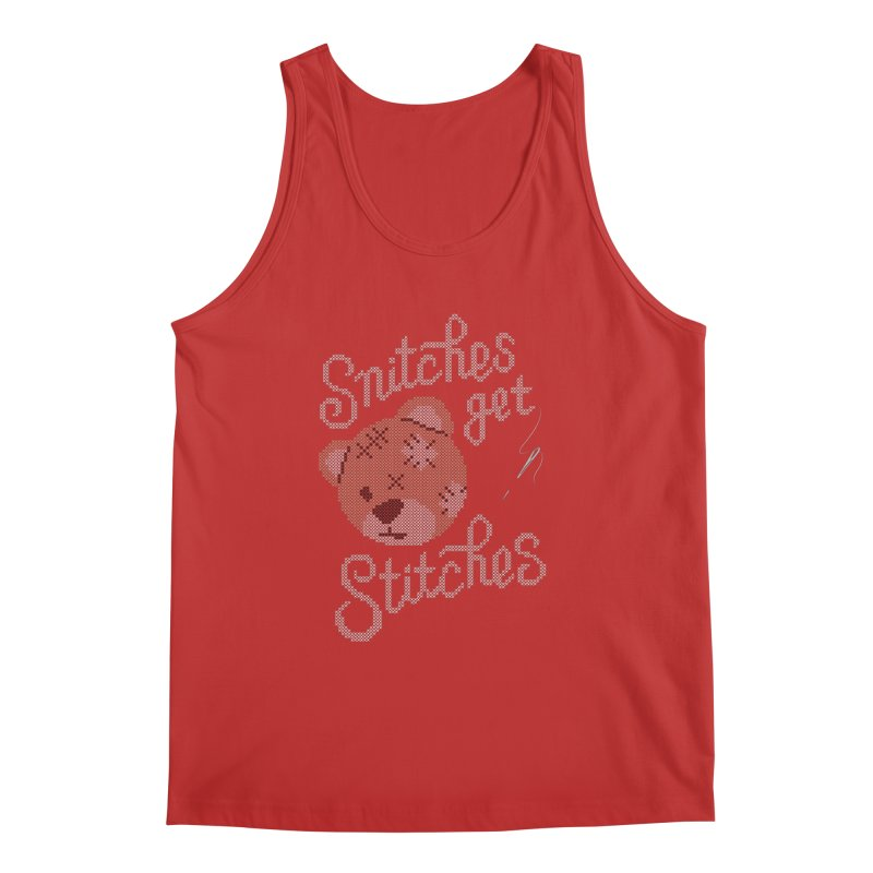 Snitches Get Stitches Men's Regular Tank by CPdesign's Artist Shop