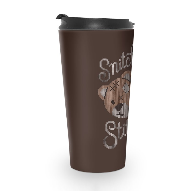 Snitches Get Stitches Accessories Travel Mug by CPdesign's Artist Shop