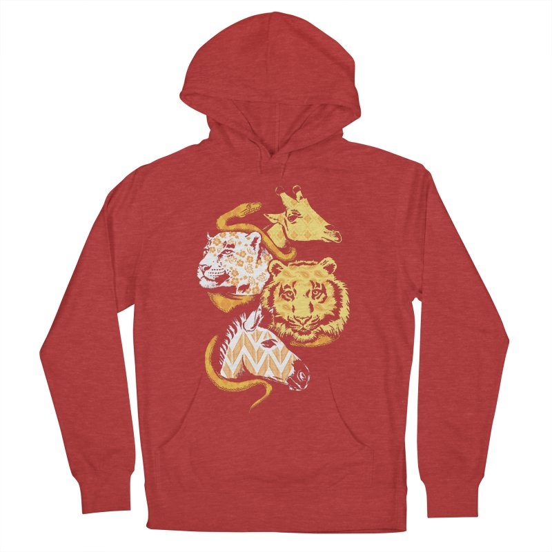 Animal Prints Men's Pullover Hoody by CPdesign's Artist Shop