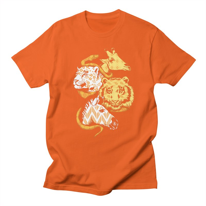 Animal Prints Men's T-shirt by CPdesign's Artist Shop