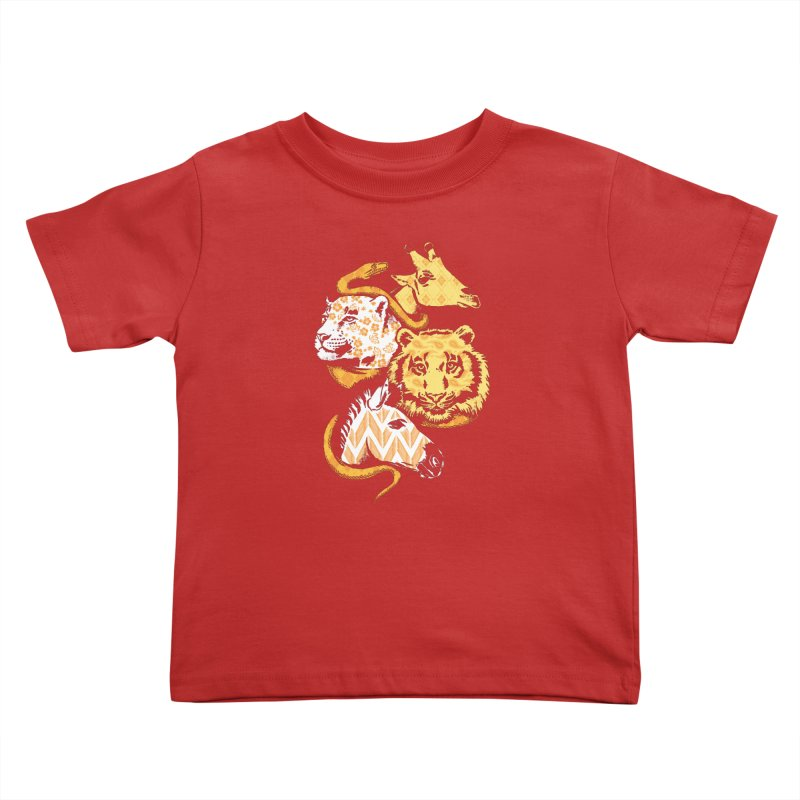 Animal Prints Kids Toddler T-Shirt by CPdesign's Artist Shop