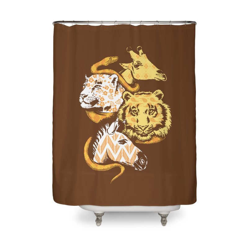 Animal Prints Home Shower Curtain by CPdesign's Artist Shop