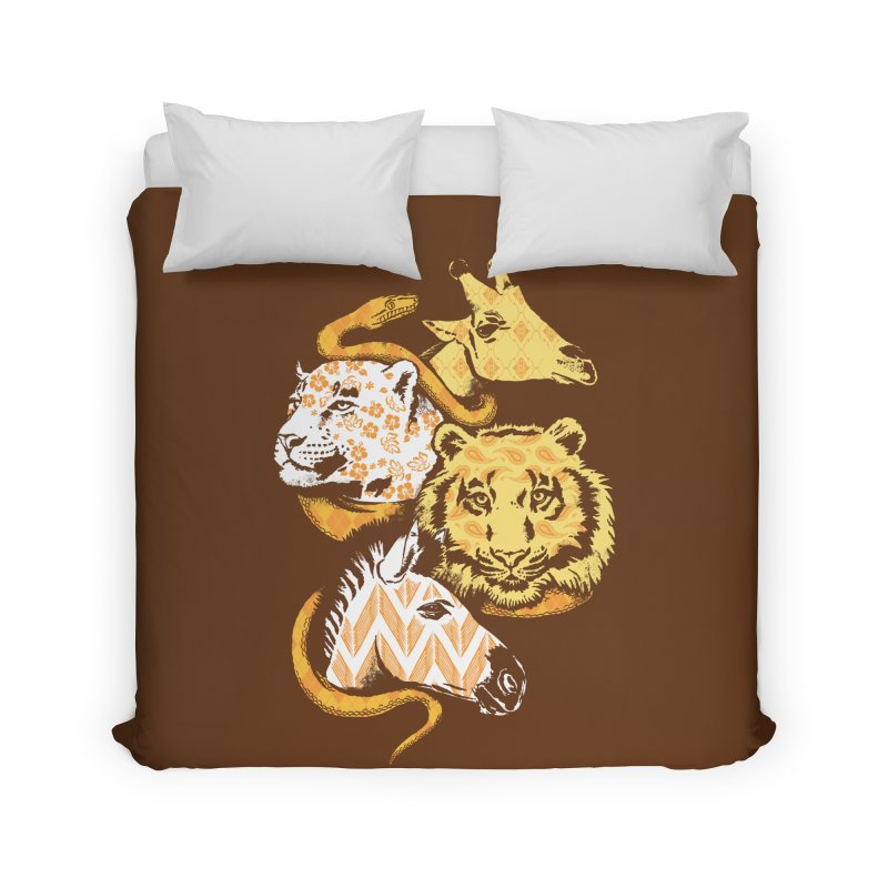 Animal Prints Home Duvet by CPdesign's Artist Shop