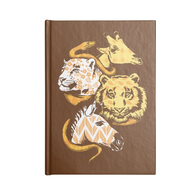 Animal Prints Accessories Notebook by CPdesign's Artist Shop