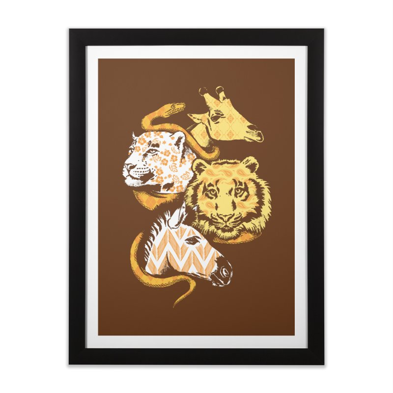 Animal Prints Home Framed Fine Art Print by CPdesign's Artist Shop