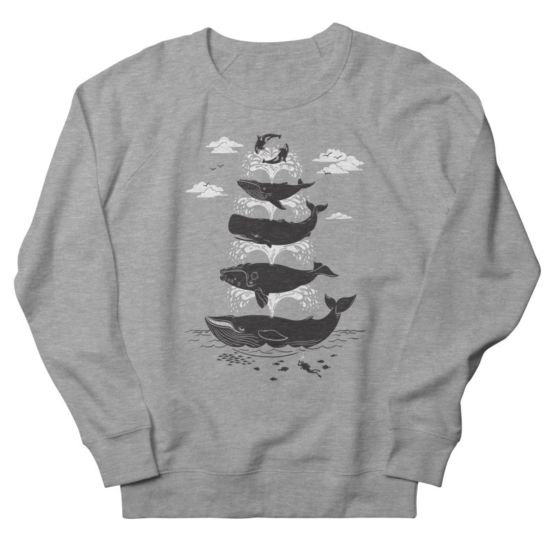 Whale of a Time Women's Sweatshirt by CPdesign's Artist Shop