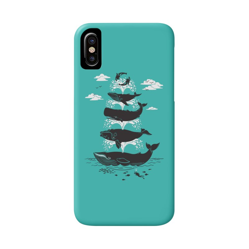 Whale of a Time Accessories Phone Case by CPdesign's Artist Shop