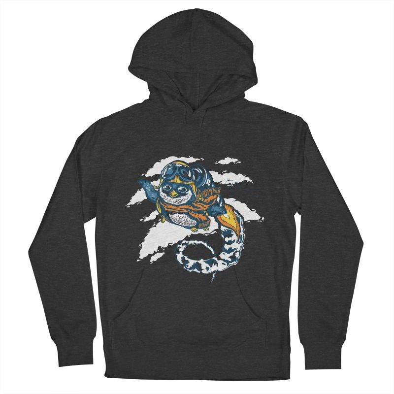 Flying Penguin Men's Pullover Hoody by CPdesign's Artist Shop
