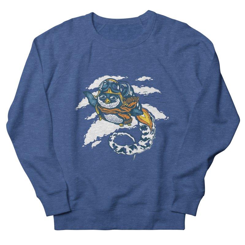 Flying Penguin Women's Sweatshirt by CPdesign's Artist Shop
