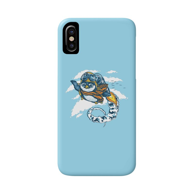 Flying Penguin Accessories Phone Case by CPdesign's Artist Shop