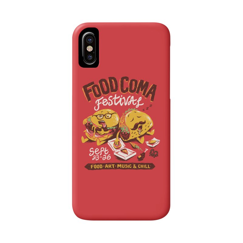 Food Coma Accessories Phone Case by CPdesign's Artist Shop