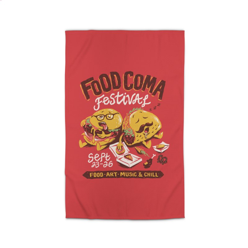 Food Coma Home Rug by CPdesign's Artist Shop