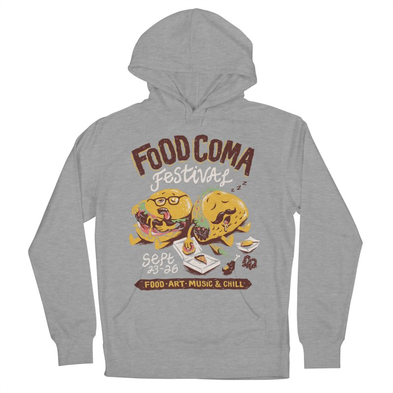 Food Coma Women's French Terry Pullover Hoody by CPdesign's Artist Shop