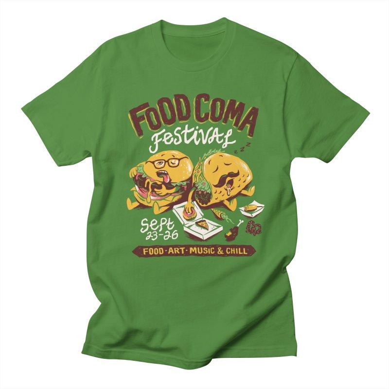 Food Coma Women's Regular Unisex T-Shirt by CPdesign's Artist Shop