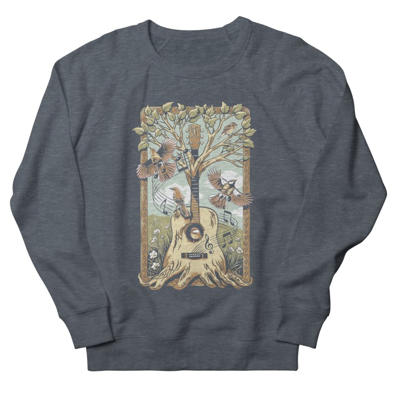 Natural Melody Women's French Terry Sweatshirt by CPdesign's Artist Shop
