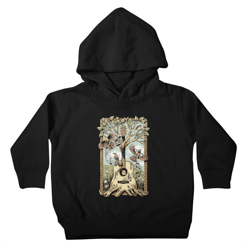 Natural Melody Kids Toddler Pullover Hoody by CPdesign's Artist Shop