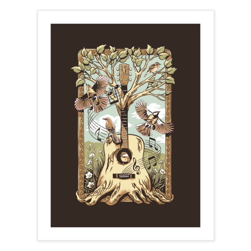 Natural Melody Home Fine Art Print by CPdesign's Artist Shop