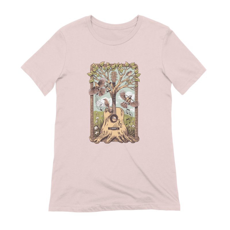 Natural Melody 2 Women's Extra Soft T-Shirt by CPdesign's Artist Shop
