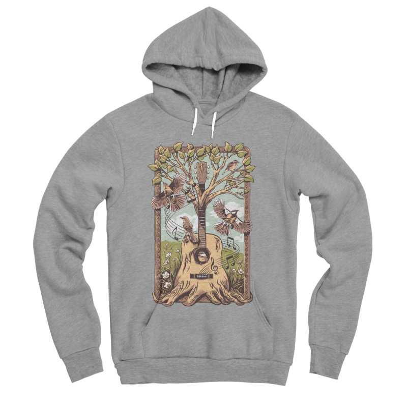 Natural Melody 2 Women's Sponge Fleece Pullover Hoody by CPdesign's Artist Shop