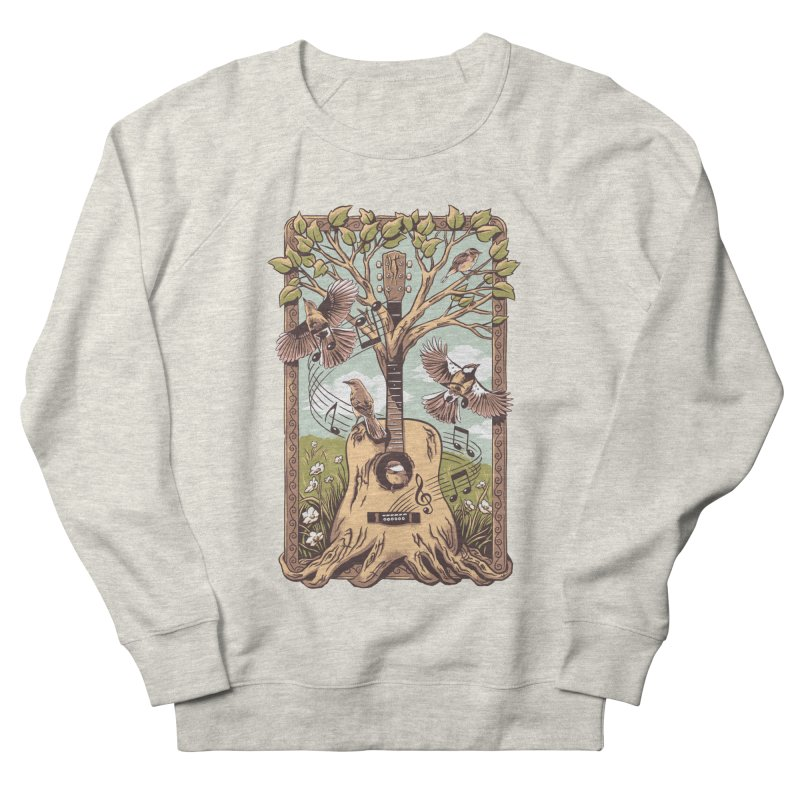 Natural Melody 2 Men's French Terry Sweatshirt by CPdesign's Artist Shop