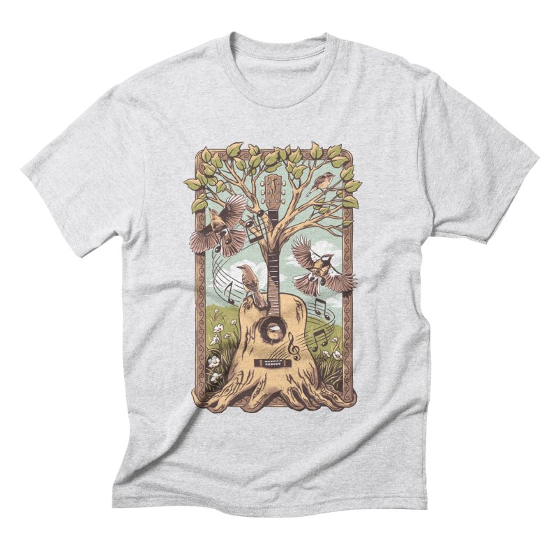 Natural Melody 2 Men's Triblend T-Shirt by CPdesign's Artist Shop