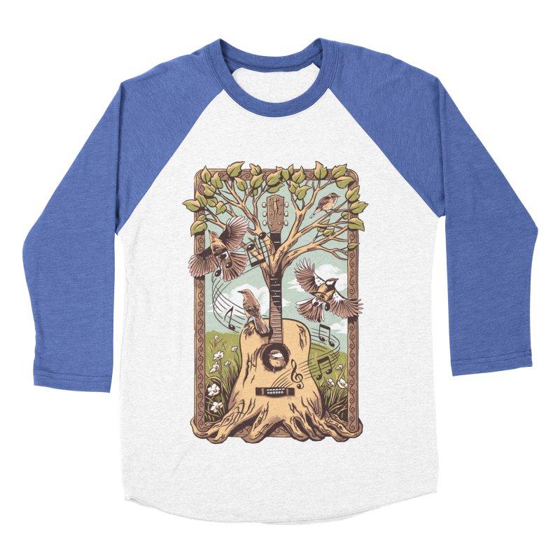 Natural Melody 2 Men's Baseball Triblend Longsleeve T-Shirt by CPdesign's Artist Shop