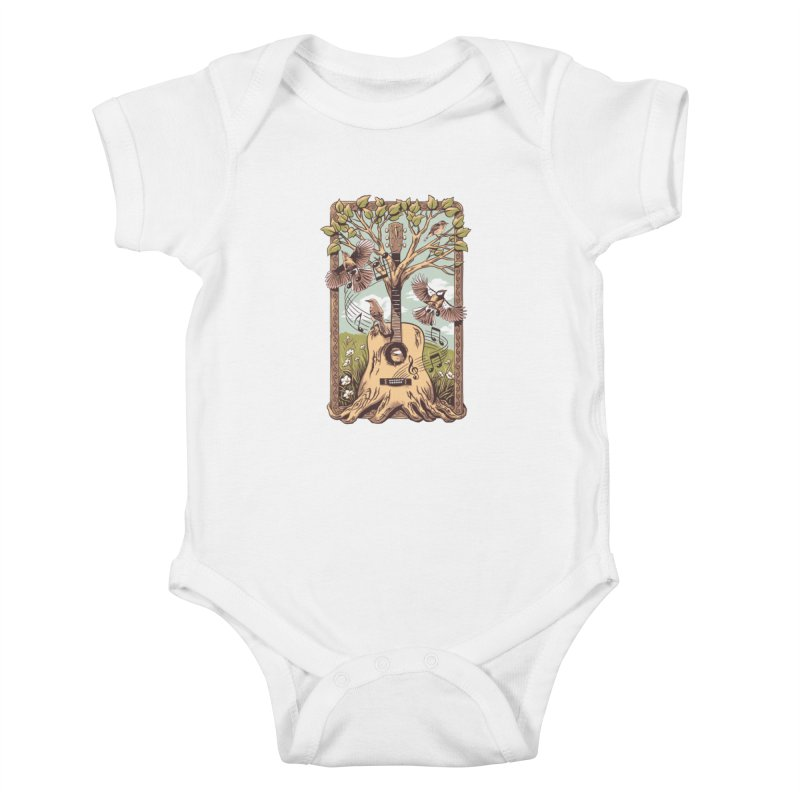 Natural Melody 2 Kids Baby Bodysuit by CPdesign's Artist Shop