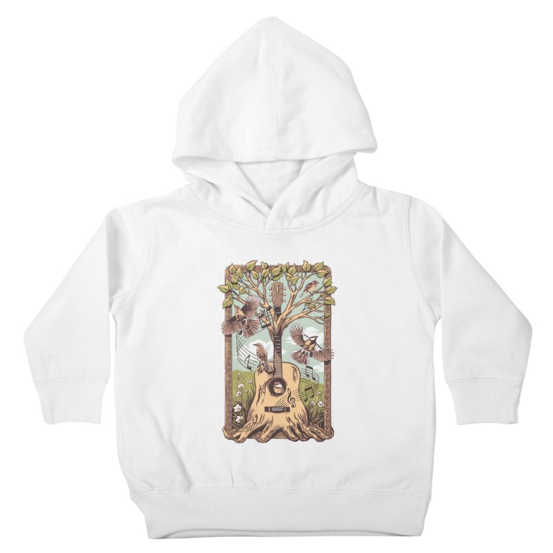 Natural Melody 2 Kids Toddler Pullover Hoody by CPdesign's Artist Shop