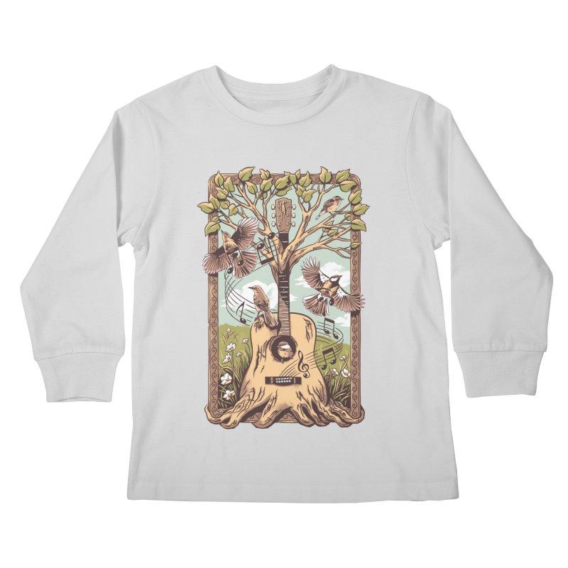 Natural Melody 2 Kids Longsleeve T-Shirt by CPdesign's Artist Shop