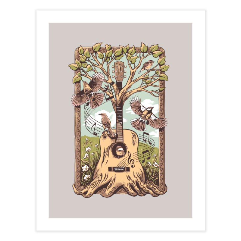 Natural Melody 2 Home Fine Art Print by CPdesign's Artist Shop