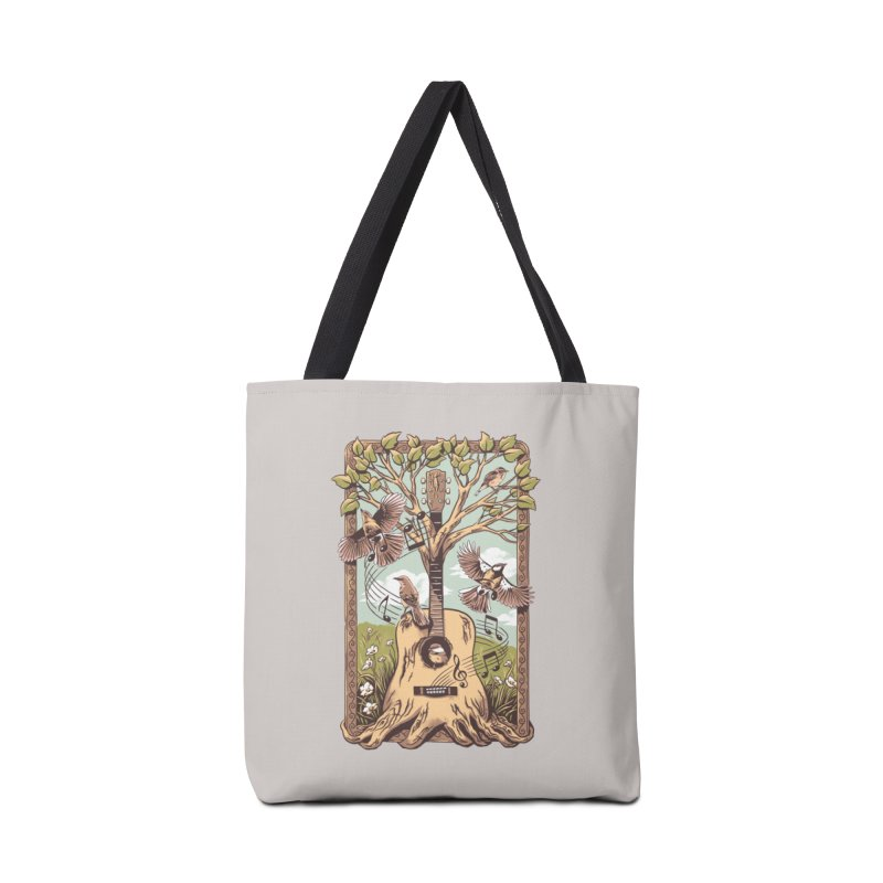 Natural Melody 2 Accessories Tote Bag Bag by CPdesign's Artist Shop
