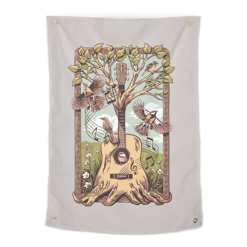 Natural Melody 2 Home Tapestry by CPdesign's Artist Shop
