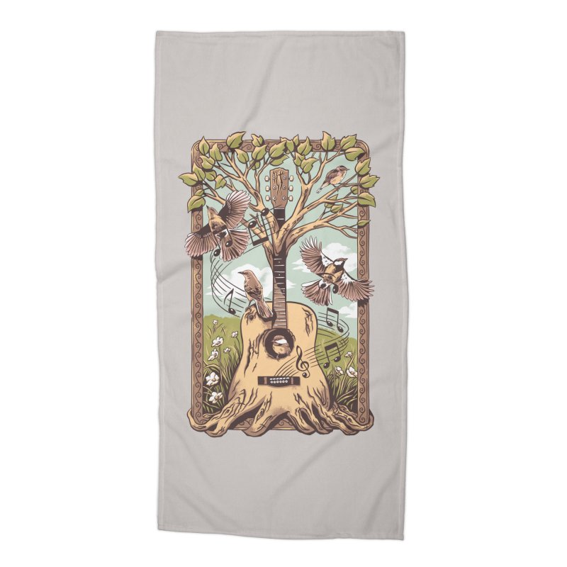 Natural Melody 2 Accessories Beach Towel by CPdesign's Artist Shop