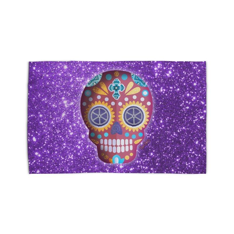 Magenta Skull   by Cesar Peralta