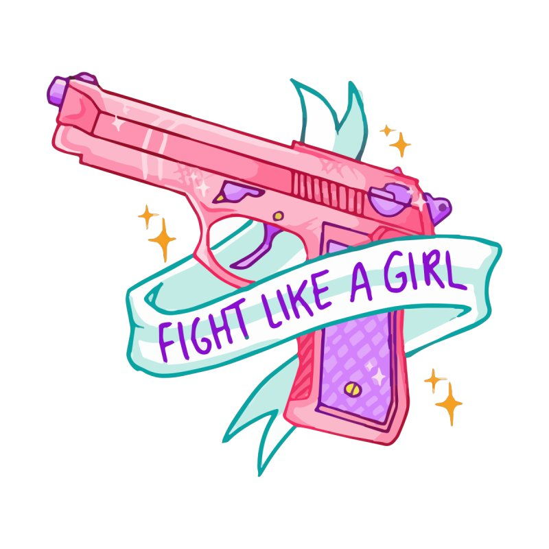 Fight Like a Girl by Cesar Peralta