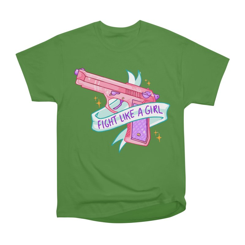 Fight Like a Girl Men's Classic T-Shirt by Cesar Peralta