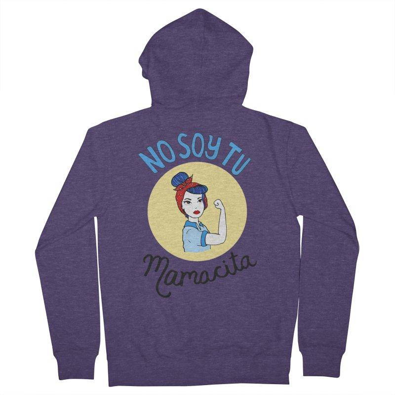 No soy tu Mamacita Men's Zip-Up Hoody by Cesar Peralta