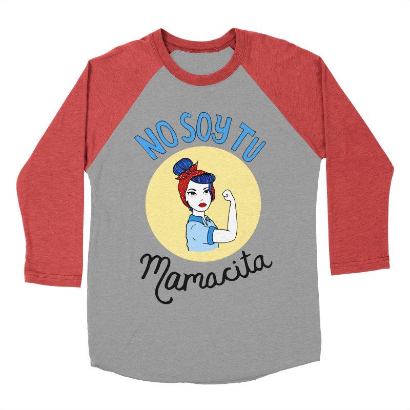 No soy tu Mamacita Women's Baseball Triblend T-Shirt by Cesar Peralta