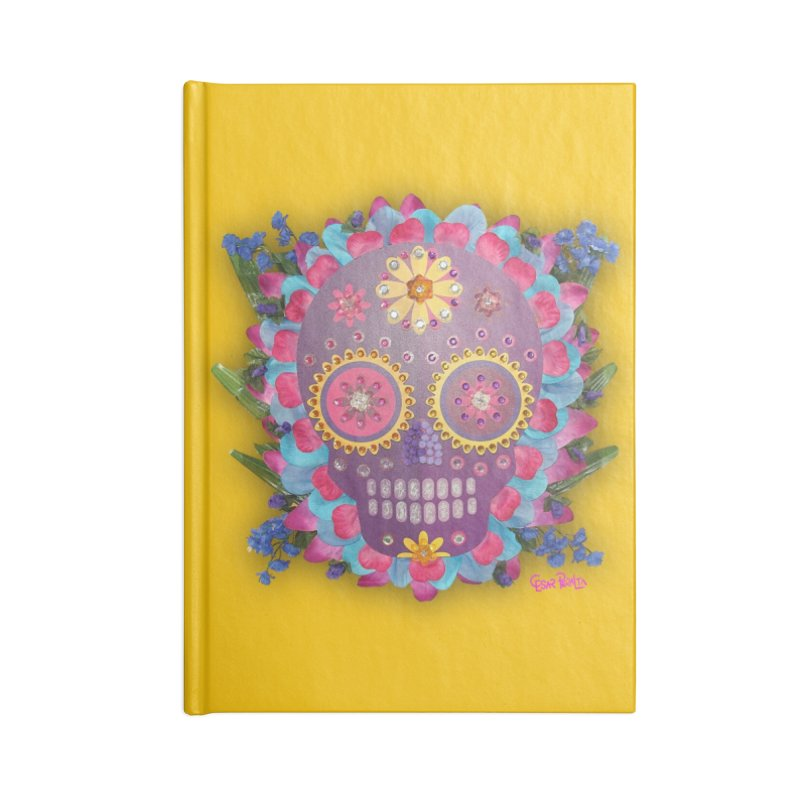 Rodeada de Flores Organicas Accessories Notebook by Cesar Peralta