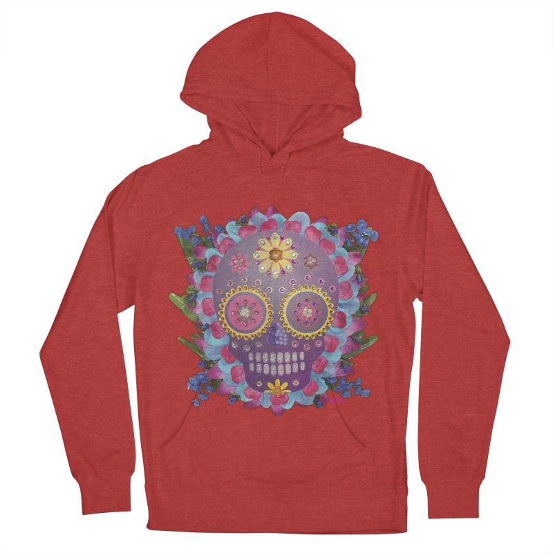 Rodeada de Flores Organicas Women's Pullover Hoody by Cesar Peralta