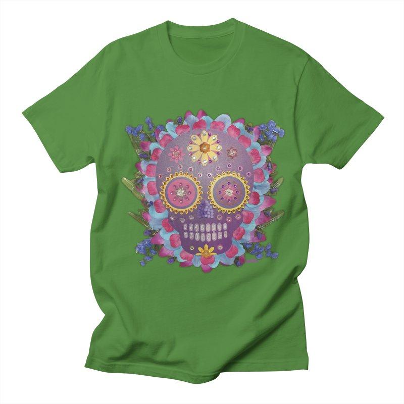 Rodeada de Flores Organicas Men's T-shirt by Cesar Peralta