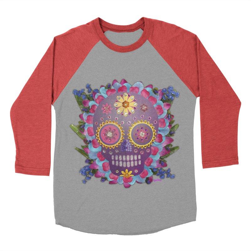 Rodeada de Flores Organicas Women's Baseball Triblend T-Shirt by Cesar Peralta
