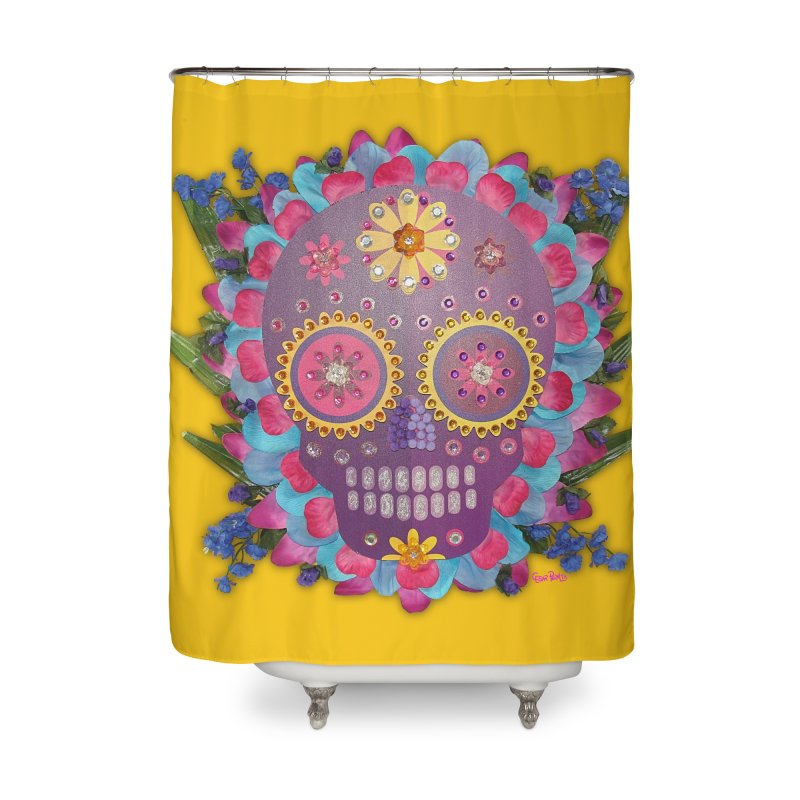 Rodeada de Flores Organicas Home Shower Curtain by Cesar Peralta