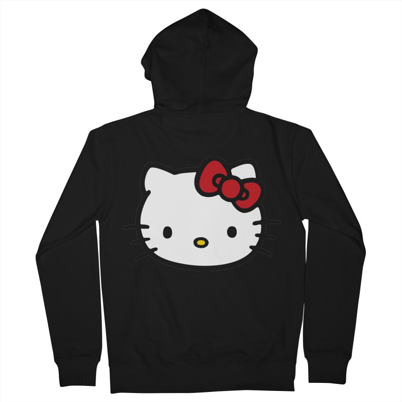 Hello Kitty Women's Zip-Up Hoody by Cesar Peralta